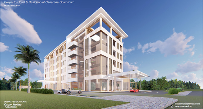HOTEL & RESIDENCIAL CANARENA DOWNTOWN